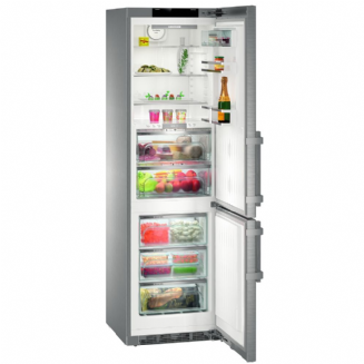 LIEBHERR CBNPes4858 Premium BioFresh with NoFrost Fridge freezer  | Stainless Steel